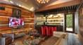 Lounge/Bar inside the Detached 4-bay Garage
