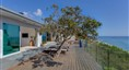Ocean Front Bluff estate with 125 ftof private be